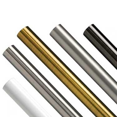 Карнизные трубы металлические