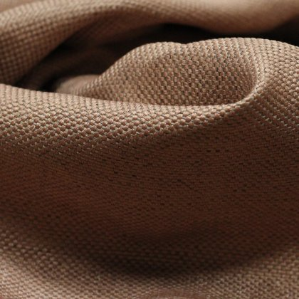 Портьерная ткань Matting терракотовая
