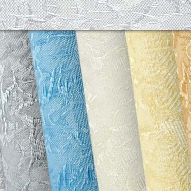 """""""Айс"""", фактурный текстиль для кассетных и свободновисящих штор"""