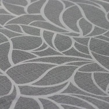 Портьерная ткань Leaves серая