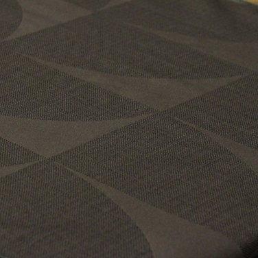Портьерная ткань Circle коричневая