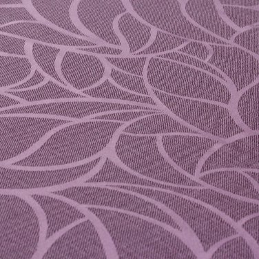 Портьерная ткань Leaves фиолетовая