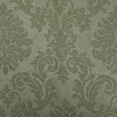 Портьерная ткань HIDDEN зеленая