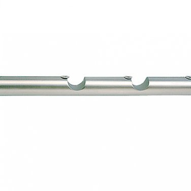 Кронштейн прямой для трехрядных настенных карнизов, 16 мм