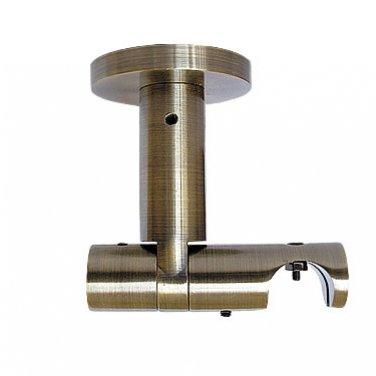 """Кронштейн прямой, потолочный, универсальный """"Глайдер"""", 19 мм"""