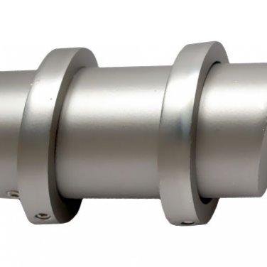 """""""Дуос"""", металлические наконечники для карнизов. 25 мм"""