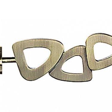 """""""Лиллет"""", наконечник для настенных металлических карнизов. 25 мм"""