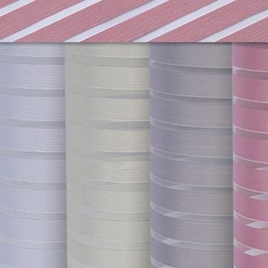Stripe, w2507 . Тюлевая ткань в полоску, затемнение 40-50 %