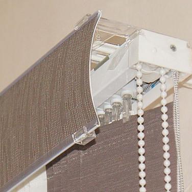 Грувер, декоративная опция для вертикальных жалюзи